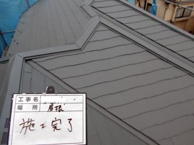 金沢区長浜Y様屋根施工完了