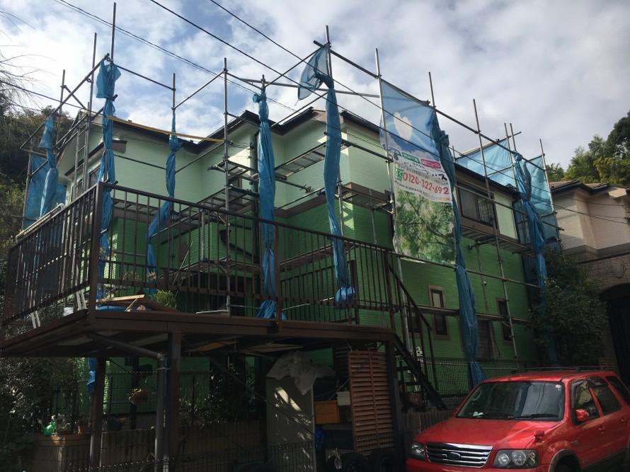 金沢区長浜Y様施工完了