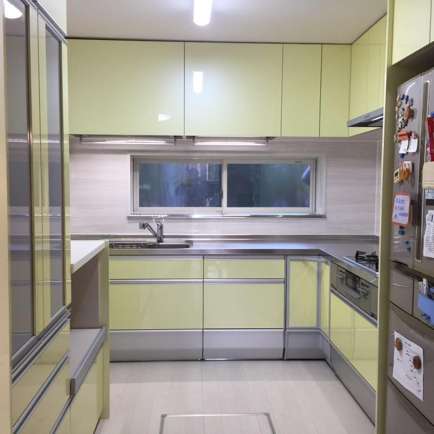 最新キッチン